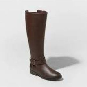 A New Day Wendy Buckle Riding Boots 6